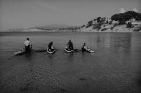 Embarquer sur un kayak
